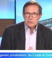 Ecorama – Le Grand Débat : Air France, logement, privatisations