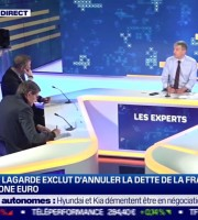 Les Experts : Christine Lagarde exclut d'annuler la dette de la France et de la zone euro